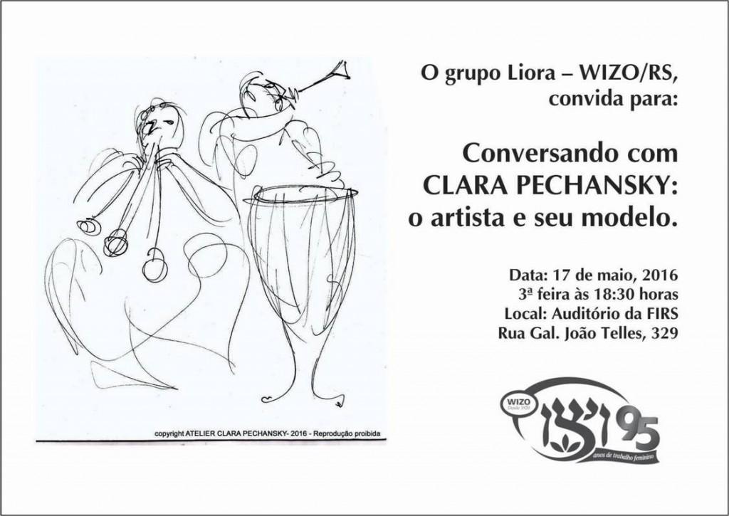 Conversa com Clara Pechansky - Liora - WIZO(RS)