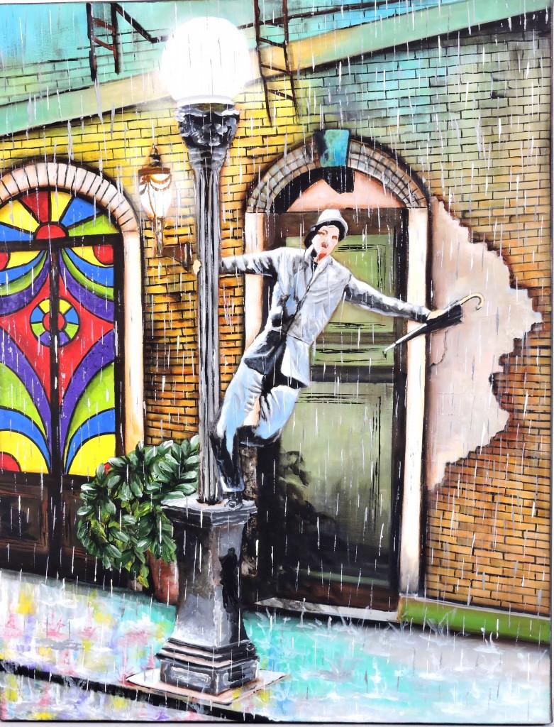 Ligia Franceschini-Cantando na chuva