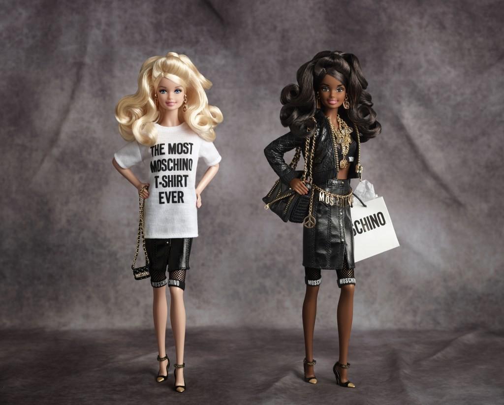 Mattel arrasa com edição limitada da Barbie para a Moschino