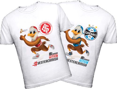 Camisetas-18a-Corrida para Vencer o Diabetes - Frente