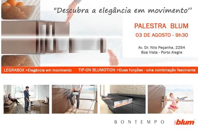 Convite palestra BLUM