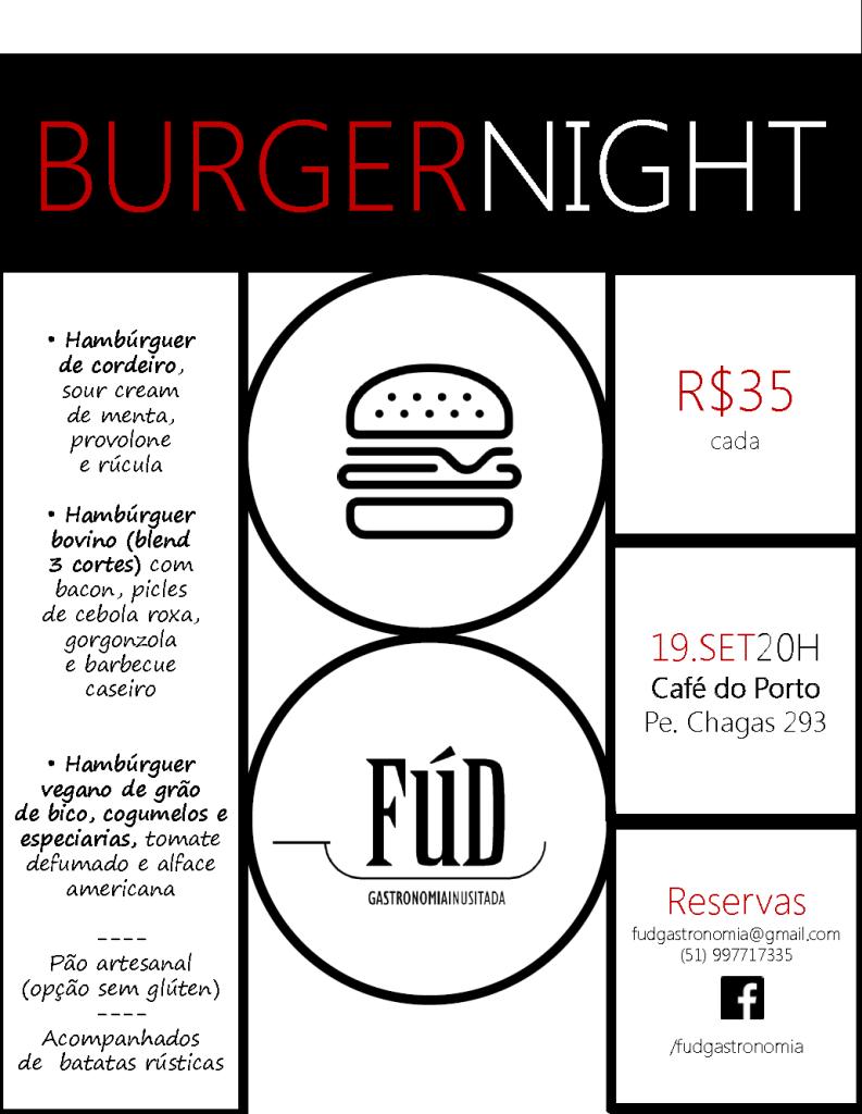 Burger Night Café do Porto_v1
