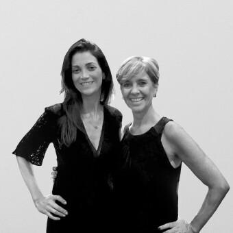 Larissa Marques e Cláudia Fornari - Foto Arquivo Pessoal