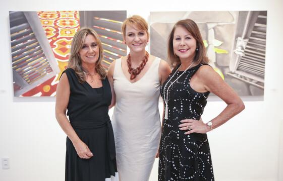 Maria do Horto, Letícia Lau e Regina Galbinski (foto: Lisa Roos)