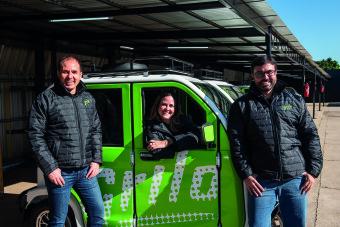 Carlos Novaes, Leonor Moura e João Vitor Tavares - foto Christiano Cardoso