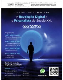 A Revolução Digital e o Psicanalista do Século XXI
