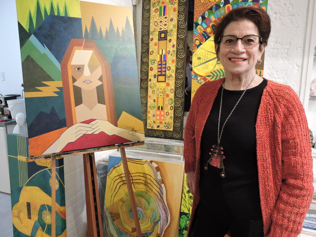 Gravura convida para exposição da artista Vera Charak Jany, a partir de 02 de setembro